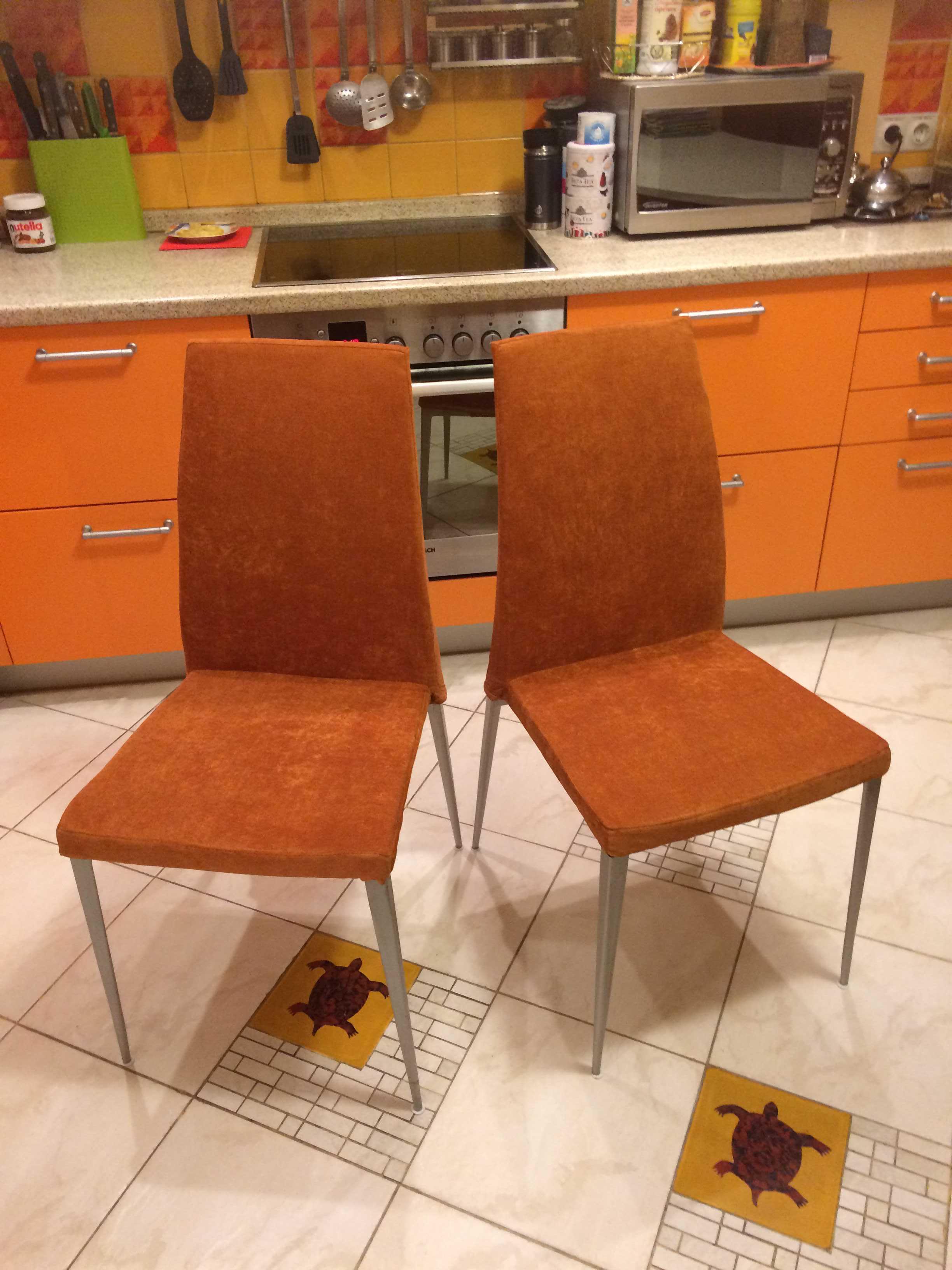 Как перетянуть барный стул своими руками 48
