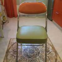 пример перетяжки кожаный стул